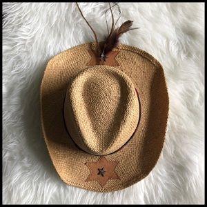 Bullhide Womens Large Star City Straw Cowboy Hat